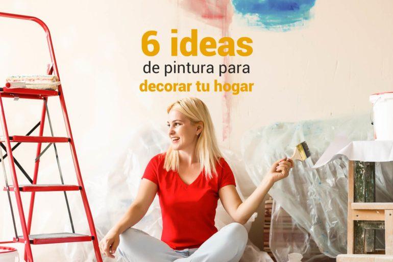 ideas para pintura de hogar
