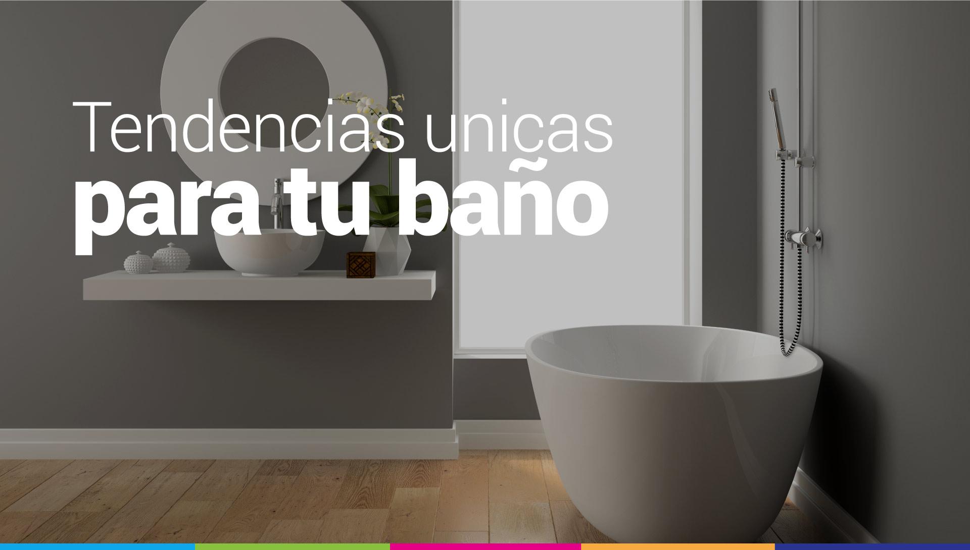 tendencias de decoracion de baños