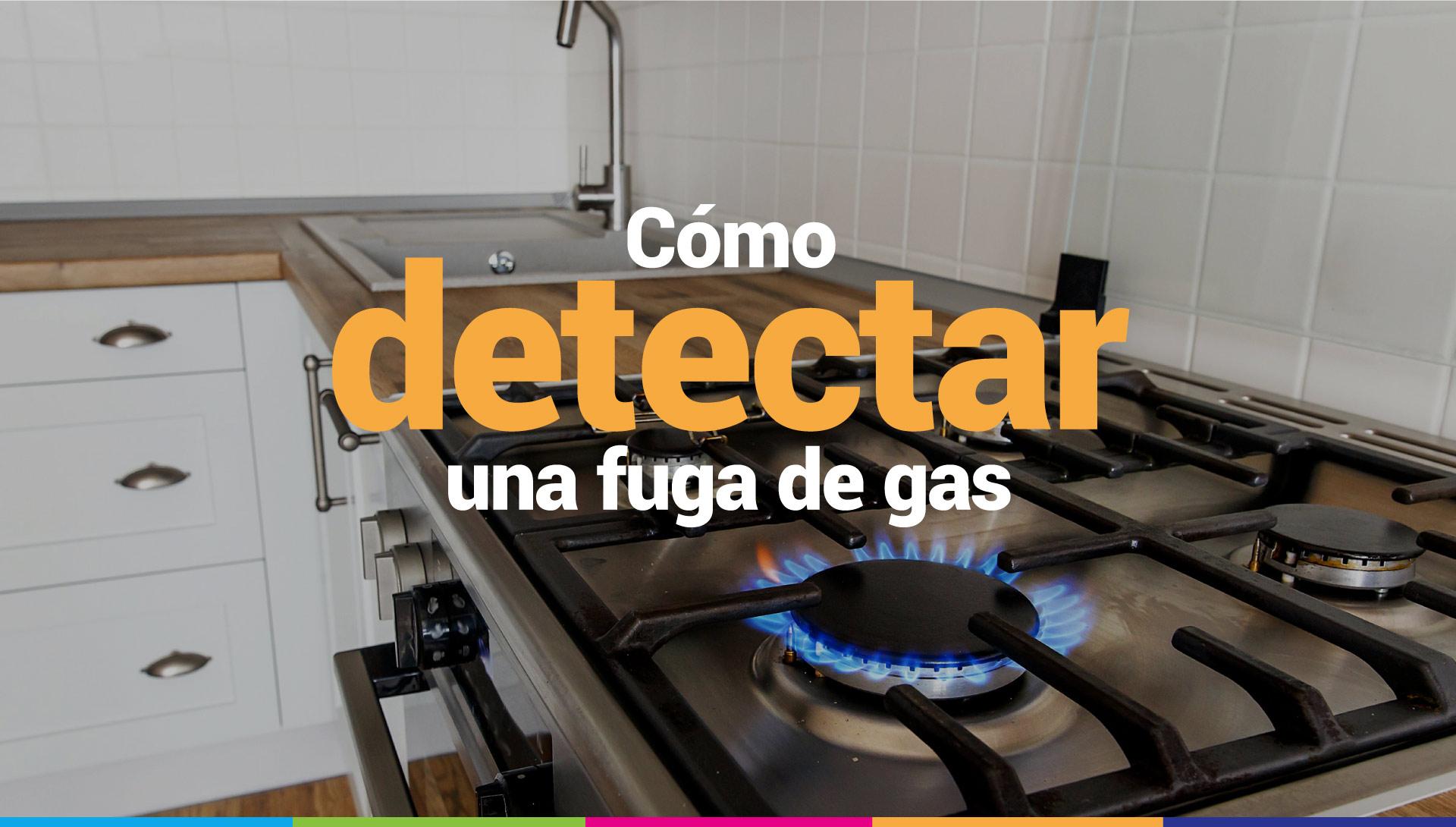 fugas de gas en casa